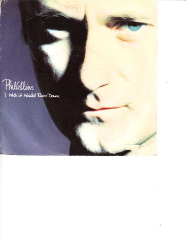 PHIL COLLINS - I WISH IT WOULD RAIN DOWN - VIRGIN