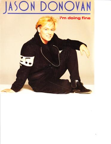 JASON DONOVAN - IM DOING FINE - PWL