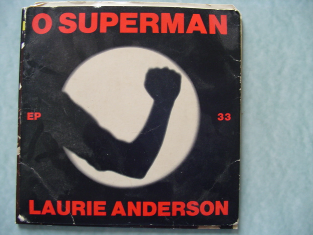 LAURIE ANDERSON - O SUPERMAN - ONE TEN