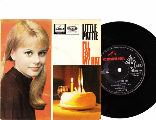 Little Pattie - I'll eat my hat - HMV Australia EP 4149