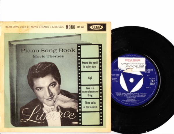 Liberace - Piano Song Book - Coral EP - 4156