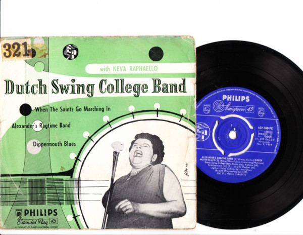 Neva Raphaello - Dutch Swing College Band - Philips EP 4157
