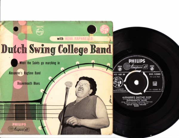 Neva Raphaello - Dutch Swing College Band - Philips UK EP 4158