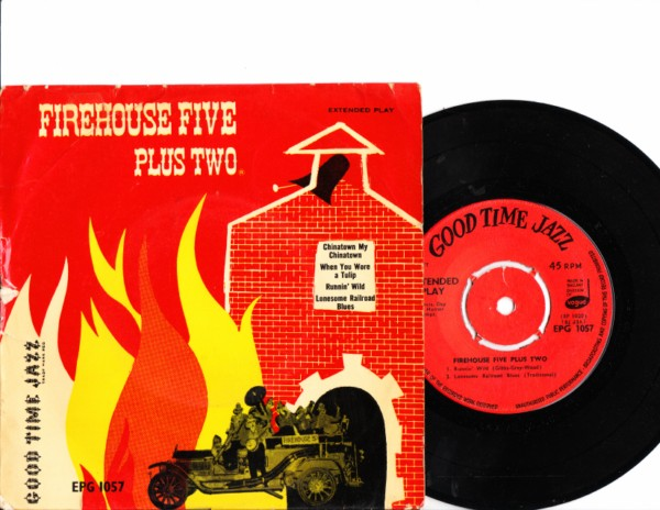 Firehouse Five Plus Two - Good Time Jazz EP - 4168