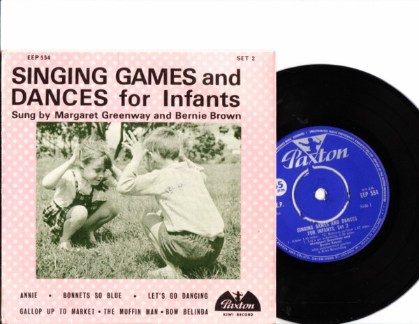 Margaret Greenway & Bernie Brown - Games & Dances Infants -