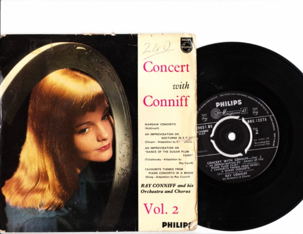 Ray Conniff - Concert with Conniff - Philips EP - 4175