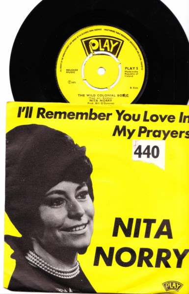 PLAY 005 - Nita Norry - picture sleeve 1971