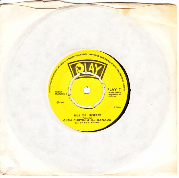PLAY 007 - Glen Curtin & Xanadu 1971
