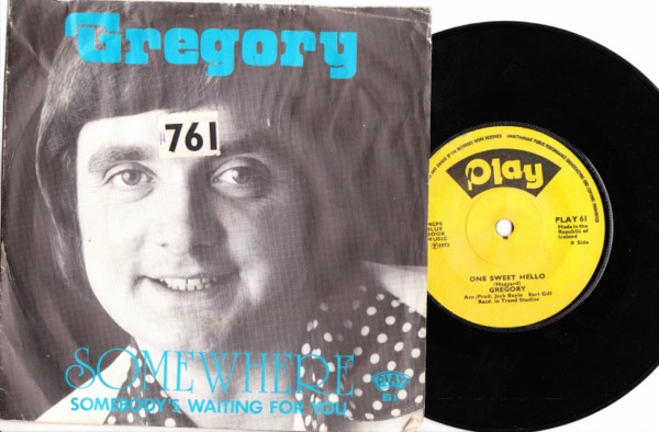 PLAY 061 - Gregory - 1973 P/S