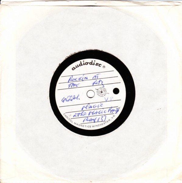 PLAY 137 - Magic & The Magic Band - 1980 - RARE ACETATE