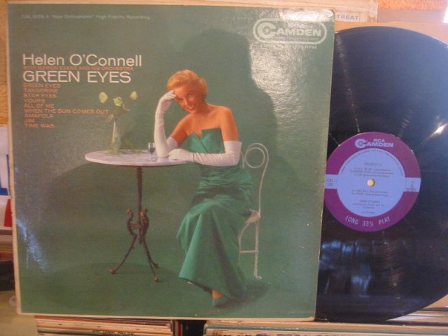 HELEN O CONNELL - GREEN EYES - RCA CAMDEN - PM 181