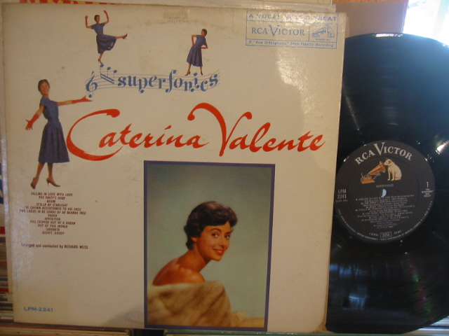 CATERINA VALENTE - SUPERFONICS - RCA - PM 180