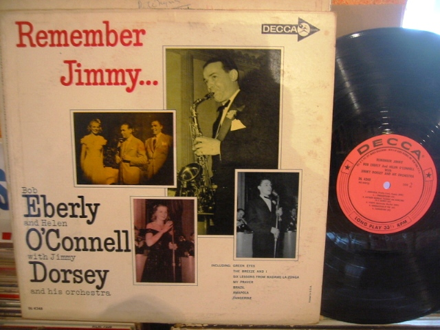 JIMMY DORSEY - REMEMBERING JIMMY - DECCA - PM 179