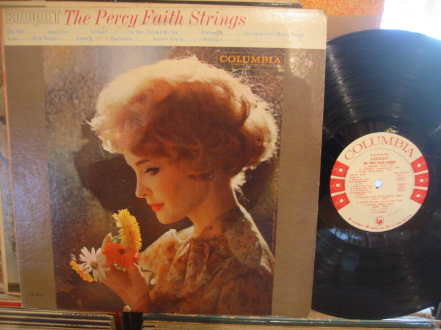 PERCY FAITH - BOUQUET - COLUMBIA promo - PM 175