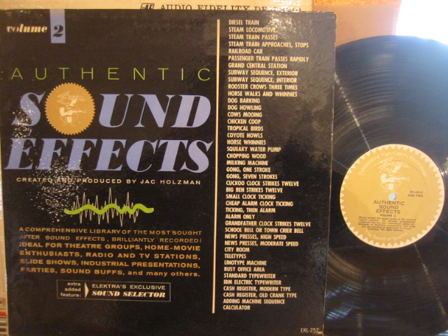 AUTHENTIC SOUND EFFECTS VOL 2 - ELEKTRA - PM 173