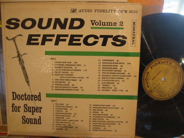 SOUND EFFECTS VOL 2 - AUDIO FIDELITY - PM 172