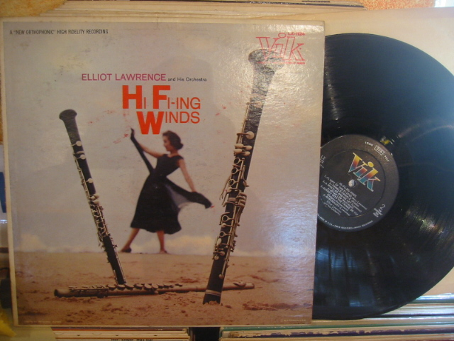 ELIOTT LAWRENCE - HI FI-ING WINDS - VIK - PM 182