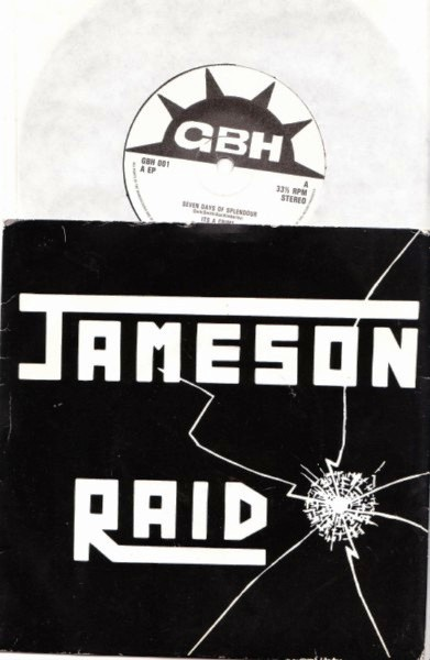 "JAMESON RAID - Seven Days Splendour - UK 7"" NWOBHM Metal"