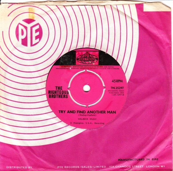 Righteous Brothers - Bring your love to me - Pye Int. 3311