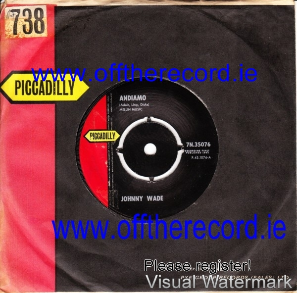 Johnny Wade - Andiamo - Piccadilly 3931