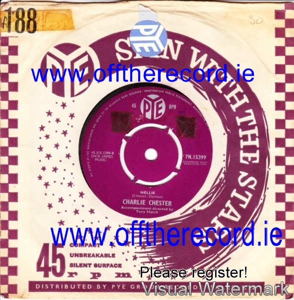 Charlie Chester - The Onion Song - Pye 3951