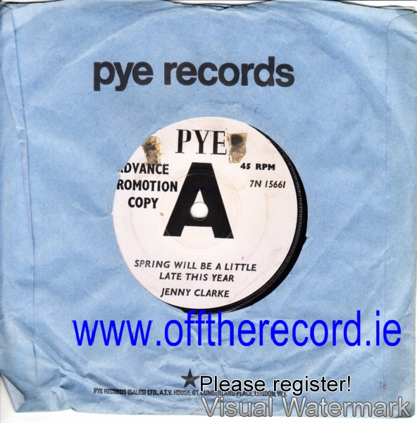 Jenny Clarke - Spring will be late - Pye Demo 7N15661