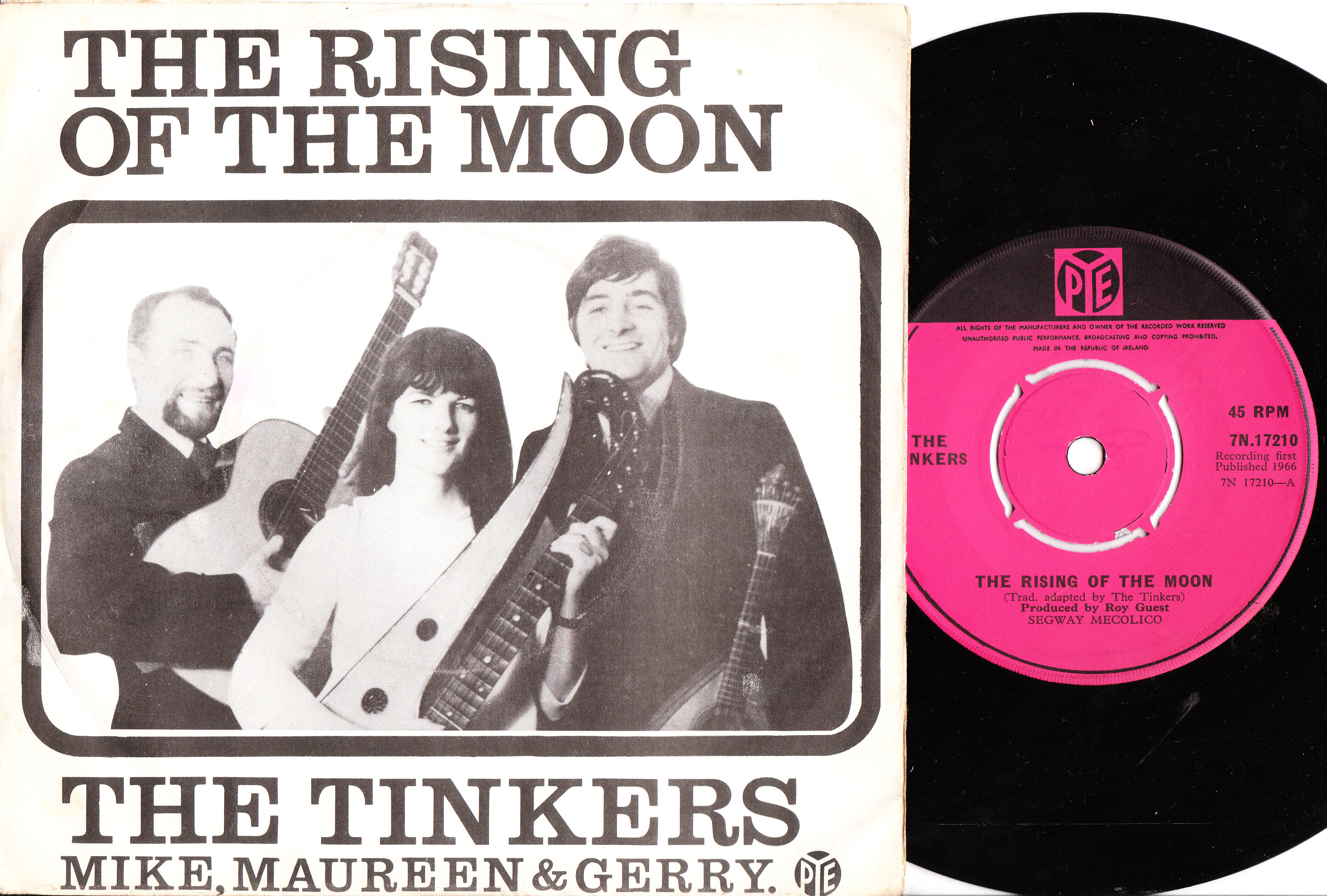 The Tinkers - Rising Of The Moon - PYE 7N 17210