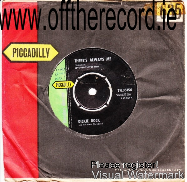 Dickie Rock & The Miami - Picadilly RECORDS - 7N 35154