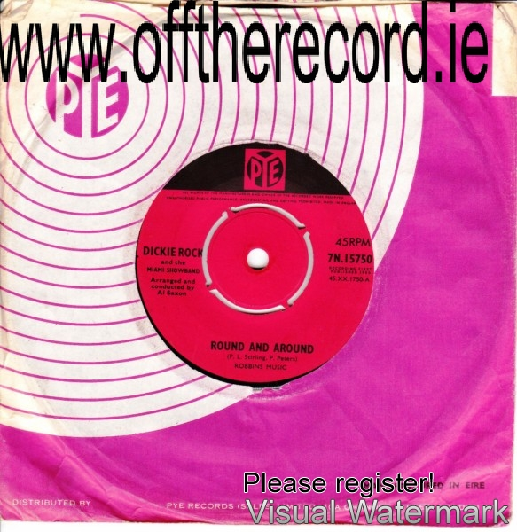 Dickie Rock & The Miami - PYE UK RECORDS - 7N 15750