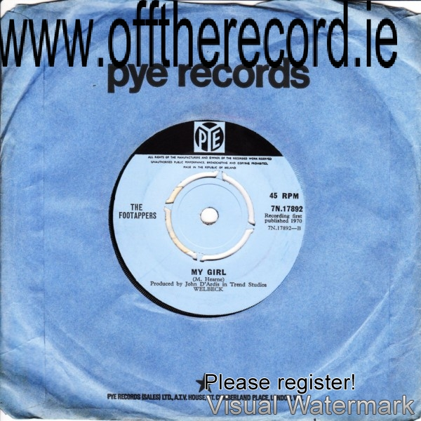 The Footappers - Pye 7N17892 - 1970