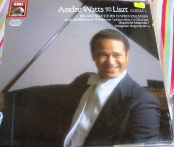 ANDRE WATTS piano - LISZT 6 ETUDES - SEALED EMI 1626