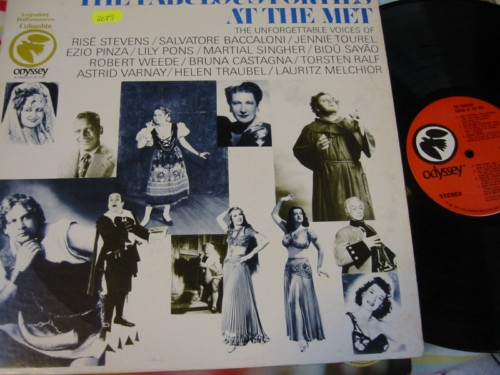 VARIOUS - FABULOUS FORTIES THE MET - ODYSSEY COLUMBIA