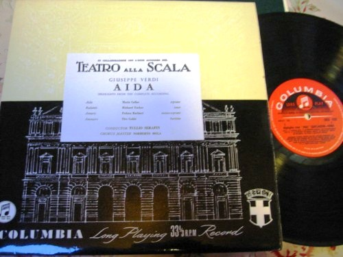 Verdi - Aida - Callas Serafin - Columbia 33CX Highlights