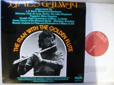 James Galway - The Man with the Golden Flute - RCA - Click Image to Close