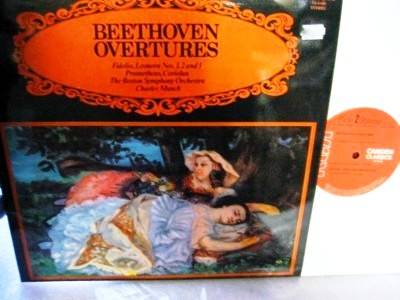 Beethoven - Overtures - Charles Munch Boston RCA