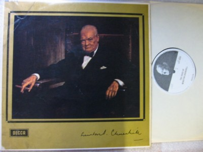 Winston Churchill - The Voice of - Decca 1964 LP