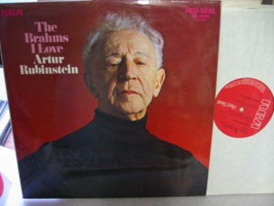 Rubinstein - The Brahms I Love - RCA SB6845