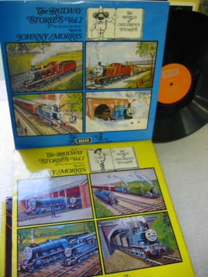 The Railway Stories Vol 1 & 2 - Johnny Morris - Decca