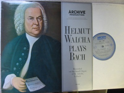 Helmut Walcha Organ - Plays Bach - Archive 004492