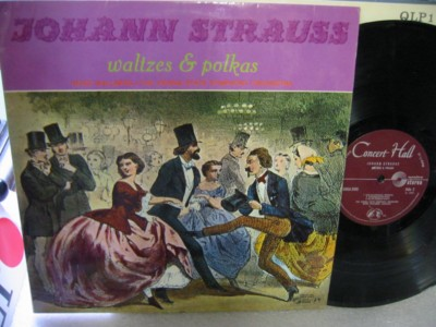 Strauss - Waltzes & Polkas - Wallberg - Concert Hall Records