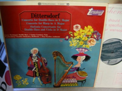 Dittersdorf - Double Bass - Hortnagel - Turnabout