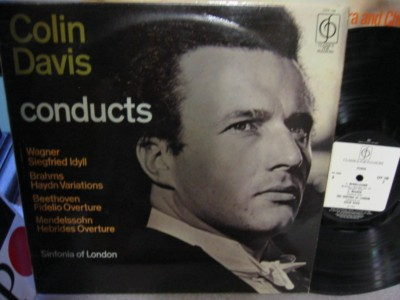 Colin Davis - Conducts Sinfonia of London - CFP