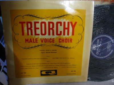 Treorchy Male Voice Choir - Qualiton Records
