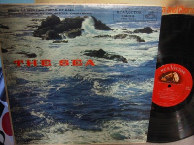 Debussy / Ibert - The Sea - Charles Muncch - RCA LM2111