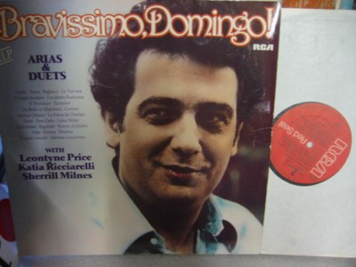 Placido Domingo - Bravissimo Domingo - RCA 2LP
