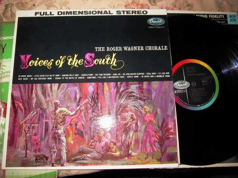 ROGER WAGNER CHORALE - VOICES OF SOUTH - CAPITOL STEREO