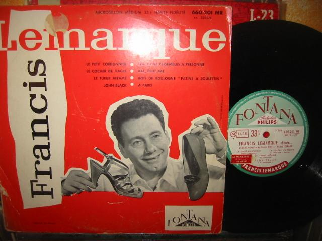 FRANCIS LEMARQUE - FONTANA { FRENCH PRESS