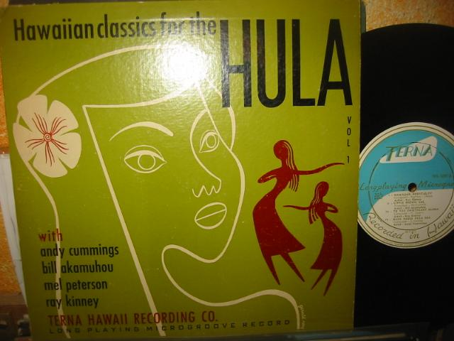 HAWAIIAN - CLASSICS OF HULA - TERNA RECORDS