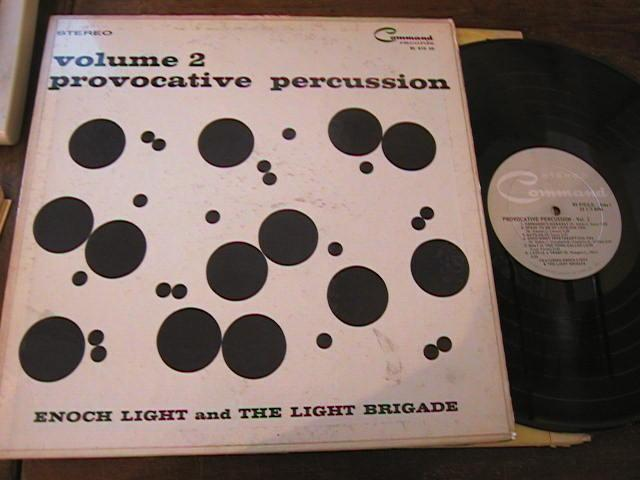 LATIN - ENOCH LIGHT - PERCUSSION - COMMAND - R 3