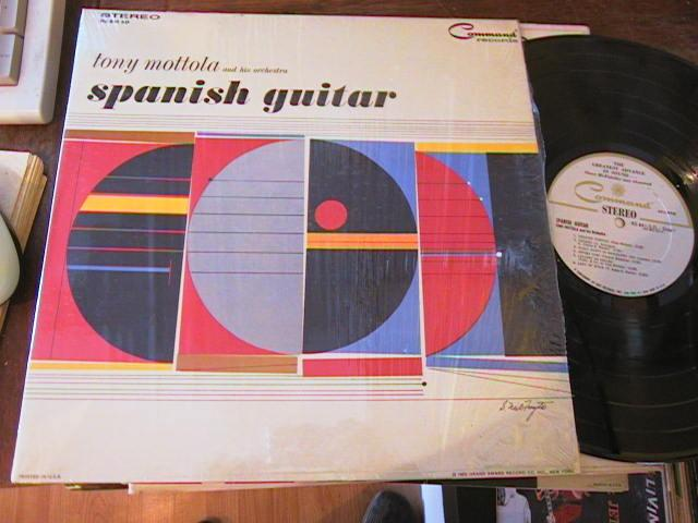 SPANISH GUITARS - TONY MOTTOLA - COMMAND RECORDS - R 14